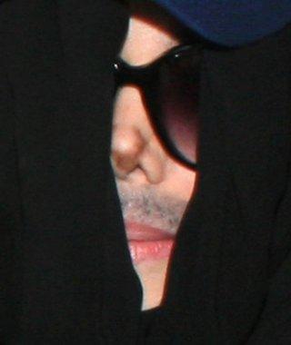 Un'immagine emblematica di Michael Jackson negli ultimi anni di vita