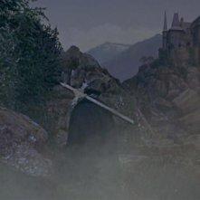 Una scena del film Le amanti di Dracula