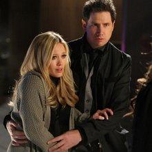 Jamie Kennedy e Hilary Duff nell'episodio Thrilled to Death della quarta stagione di Ghost Whisperer