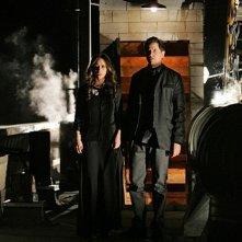 Jennifer Love Hewitt con Jamie Kennedy nell'episodio Thrilled to Death della quarta stagione di Ghost Whisperer