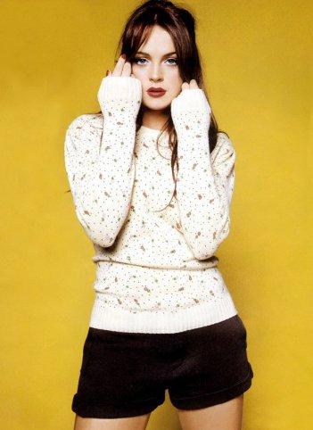 Lindsay Lohan in una foto promozionale