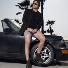 David Duchovny posa per una foto promozionale della prima stagione di Californication