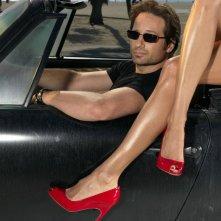 Il telefilm Californication ha come protagonista lo scrittore Hank Moody interpretato da David Duchovny