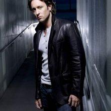 Una foto promo di Alex O'Loughlin per la serie tv Moonlight
