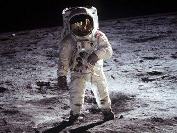 20 luglio 1969 - Buzz Aldrin approda sulla Luna