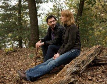 Filippo Timi e Kseniya Rappoport in una scena del film La doppia ora