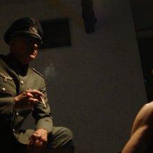 Loris Loddi in una sequenza di The Pathfinder