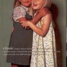 Tiziana Di Marco in un servizio fotografico per Trussardi Kid a quattro anni