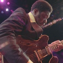 B.B. King in un'immagine del documentario Soul Power