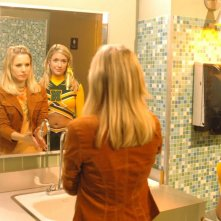 Kristen Bell e Kristin Cavallari in una scena dell'episodio 'La lista segreta' di Veronica Mars