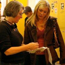 Kristin Cavallari sul set dell'episodio 'La lista segreta' della serie Veronica Mars