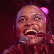Miriam Makeba in un'immagine del documentario Soul Power