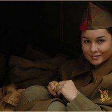 Nadia de Santiago in una scena del film Le tredici rose