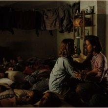 Una sequenza drammatica del film Le tredici rose, del 2007
