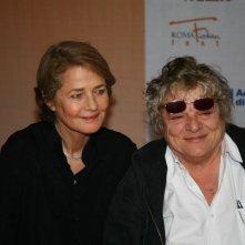RomaFictionFest 2009: Charlotte Rampling e Josee Dayan presentano L'homme aux cercles bleus