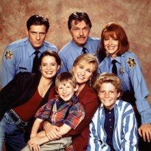 Una foto promo del cast de La Famiglia Brock