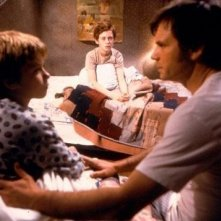 Bill Paxton, Matt O'Leary e Jeremy Sumpter in una scena del film Frailty
