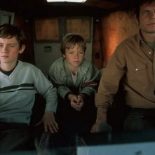 Bill Paxton, Matt O'Leary e Jeremy Sumpter nel film Frailty