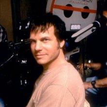 Bill Paxton sul set del film Frailty