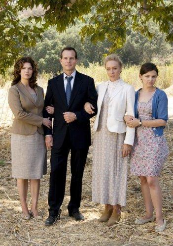 La famiglia 'particolare' di Big Love in una foto promozionale della terza stagione della serie