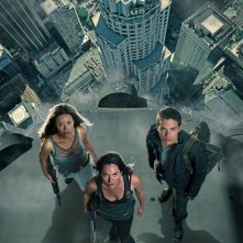 Una foto promo dall'alto del cast principale della 2 stagione di Terminator: The Sarah Connor Chronicles