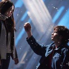 Alla Fortezza Clark (Tom Welling) chiede a Lana (Kristin Kreuk) di sposarlo (Smallville, stagione 5, ep. La rivelazione)