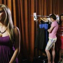 Cassie Scerbo, Chelsea Hobbs e Susan Ward in una scena dell'episodio Like Mother, Like Daughter, Like Supermodel della serie Make it or Break it