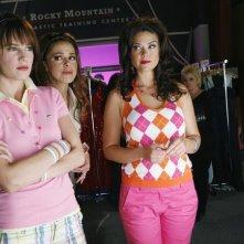 Chelsea Hobbs e Susan Ward in una scena dell'episodio Like Mother, Like Daughter, Like Supermodel della serie Make it or Break it