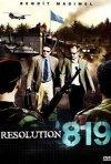 La locandina di Resolution 819