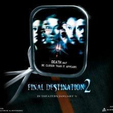 Un wallpaper ufficiale della New Line per il film Final Destination 2