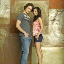 Zachary Abel e Josie Loren in una foto promozionale della serie Make It Or Break It