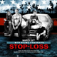 Un wallpaper ufficiale del film Stop Loss