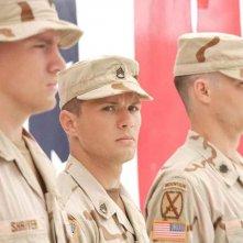 Il Sergente Brandon King (Ryan Phillippe) e il Sergente Steve Shriver (Channing Tatum) in una scena del film 'Stop Loss'