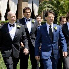 J.K. Simmons, Joe Lo Truglio, Paul Rudd, Thomas Lennon e Andy Samberg in una scena del film I Love You, Man
