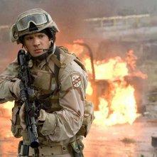 Ryan Phillippe in una scena di guerra nel film 'Stop Loss'