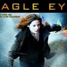 Un wallpaper del film Eagle Eye, con Michelle Monaghan