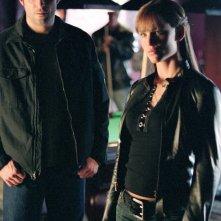 Goran Visnjic (Mark Miller) e Jennifer Garner (Elektra Natchios) in una scena del film Elektra