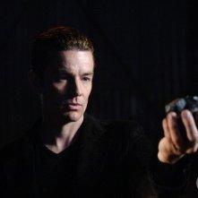 James Marsters è il professor Fine (alias Brainiac) con la kriptonite argentea ne Il frammento, episodio della stag. 5 di Smallville