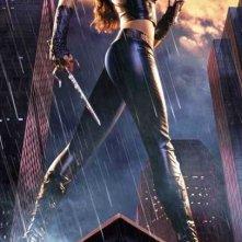 Un character poster di Elektra (Jennifer Garner) per il film Daredevil