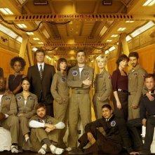 Una foto promozionale del cast di Defying Gravity