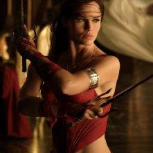 Jennifer Garner in una scena del film Elektra