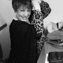 Sonia D'Ambrosi in camerino prima di andare in scena con Tutto per bene di L. Pirandello.
