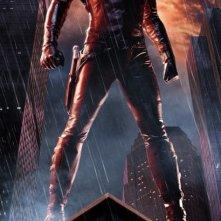 Un character poster di Daredevil (Ben Affleck) per il film Daredevil