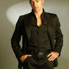 Una foto dell'attore tunisino Anis Gharbi
