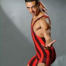 Una immagine dell'attore tunisino Anis Gharbi
