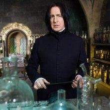 Alan Rickman (Severus Snape) nel film Harry Potter e l'Ordine della Fenice