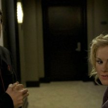 Chris Coy e Anna Paquin in un'immagine dell'episodio 'Never Let Me Go' della serie tv True Blood