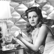 Joan Fontaine in una scena del film Il sospetto