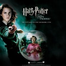 Un wallpaper ufficiale per Harry Potter and the Order of the Phoenix con Emma Watson