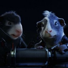 Una sequenza del film G-Force: Superspie in missione